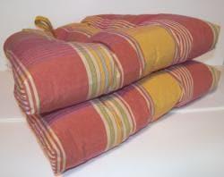 Sigourney Reversible Chair Pad (Set of 2) - Thumbnail 1