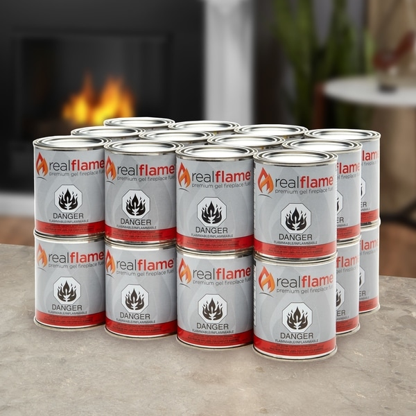 13-oz Gel Fuel (Pack of 24) by Real Flame. Opens flyout.
