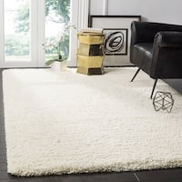 Clay Alder Home Coldwater Cozy Plush Ivory Shag Rug (3' x 5')