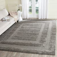Safavieh Shadow Box Ultimate Grey Shag Rug - 8'6' x 12'