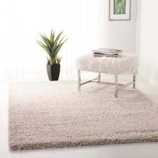 Safavieh California Cozy Plush Beige Shag Rug (8'6 x 12')