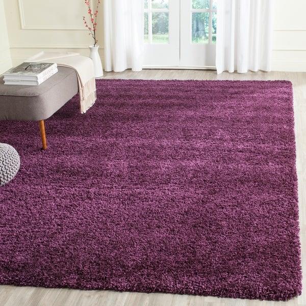 Safavieh California Cozy Plush Purple Shag Rug - 8'6 x 12'