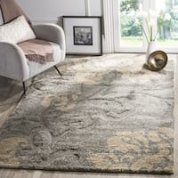 Ultimate Dark Grey/ Beige Shag Rug - 8'6 x 12'