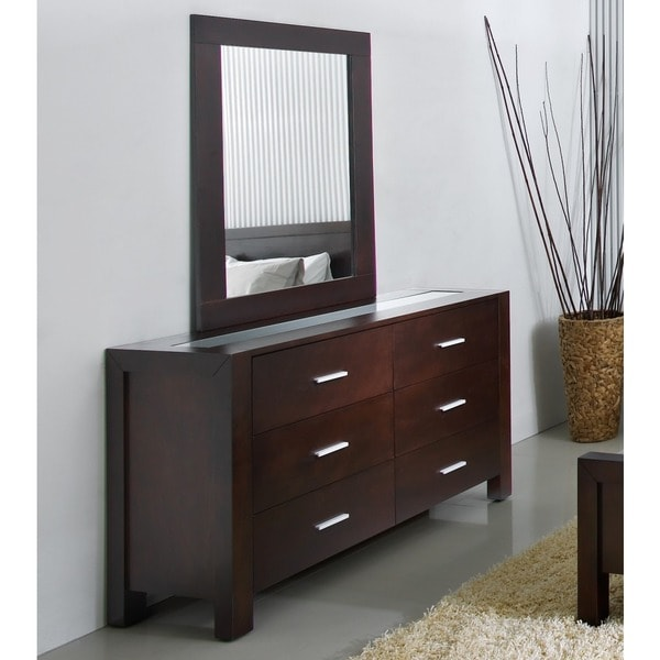 ABBYSON LIVING Hamptons 6-drawer Dresser with Mirror