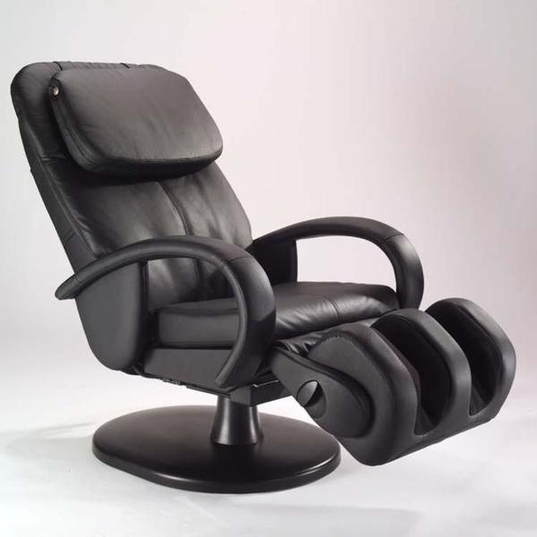 Black Human Touch Stretching Massage Chair (Refurbished)