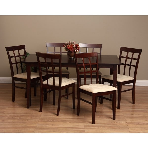 Warehouse of Tiffany Justin 7 Piece Dining Furniture Set Free Shipping Toda