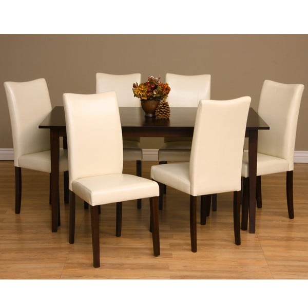 Shop Warehouse Of Tiffany Shino 7-piece Dining Furniture