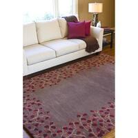 Hand Tufted Vittoria Wool Area Rug (7'6 x 9'6)