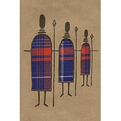 Set of 4 African Proverb Maasai Cards (Kenya) - Thumbnail 1