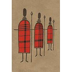 Set of 4 African Proverb Maasai Cards (Kenya) - Thumbnail 2