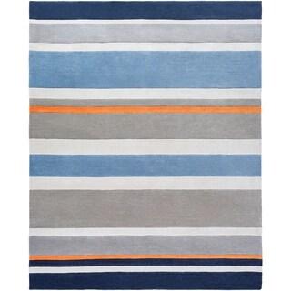 Hand Tufted Grasse Stripe Area Rug - 8' x 10'