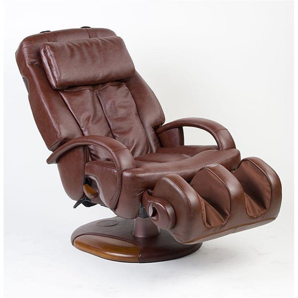 Shop Espresso Sharper Image Exclusive Thermostretch Massage Chair