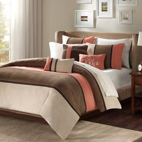 Madison Park Hanover 7-piece Comforter Set 2-Color Option