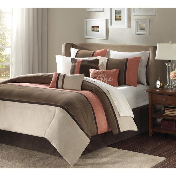 Madison Park Hanover 7-piece King/ California King-size Comforter Set