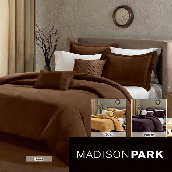 Madison Park Palmer 5-piece Duvet Cover Set