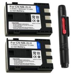 INSTEN Li-ion Battery for Canon NB-2/ NB-2LH/ 400D/ Rebel