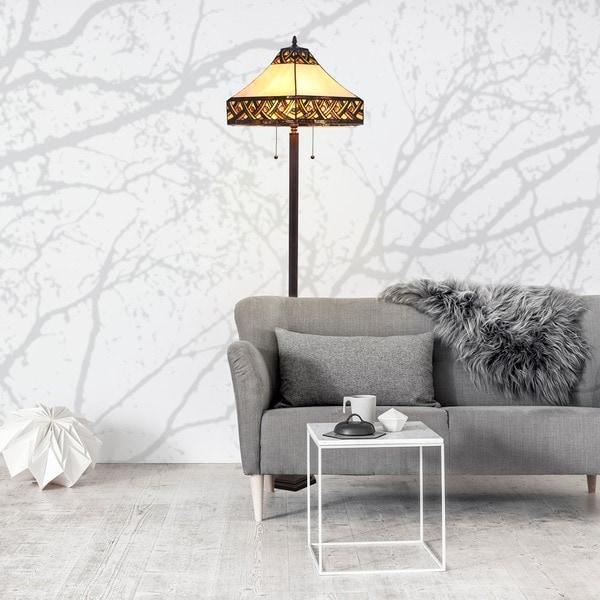 Tiffany Style Serena d'italia Alhambra Floor Lamp