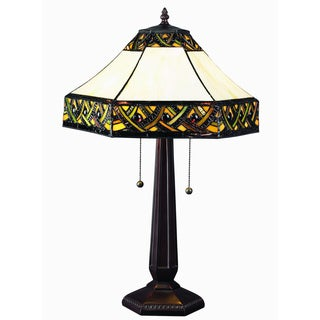 Tiffany Style Alhambra Table Lamp