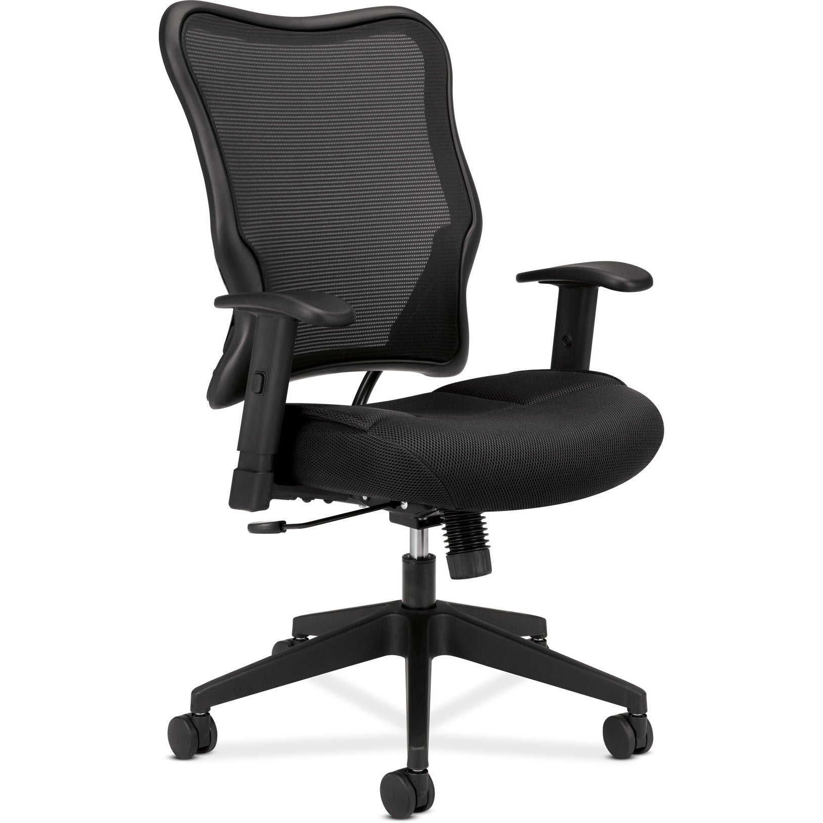 basyx by HON VL702 Black Mesh High-back Work Chair