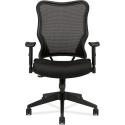 basyx by HON VL702 Black Mesh High-back Work Chair - Thumbnail 1