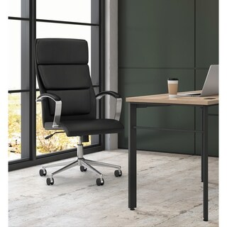 Basyx by HON VL105 Black High-back Executive Task Chair
