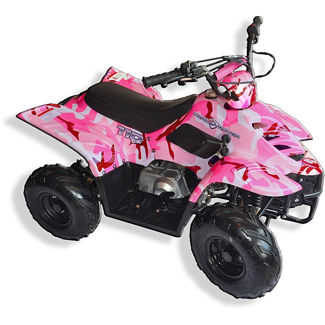 Trailrover Pink 110cc Automatic Transmission ATV