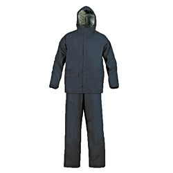 MOSSI SX Series Navy Blue PVC Heat-resistant Elastic Waist Rainsuit (4 options available)