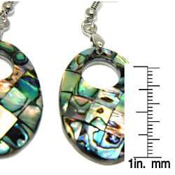 Pearlz Ocean Abalone Shell Dangle Earrings - Thumbnail 2