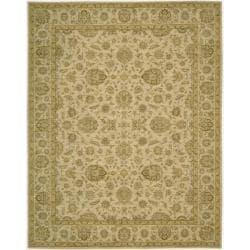 Nourison Parthia Sand Wool Rug (2' x 3')
