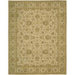 Nourison Parthia Sand Wool Rug (3'6 x 5'6)