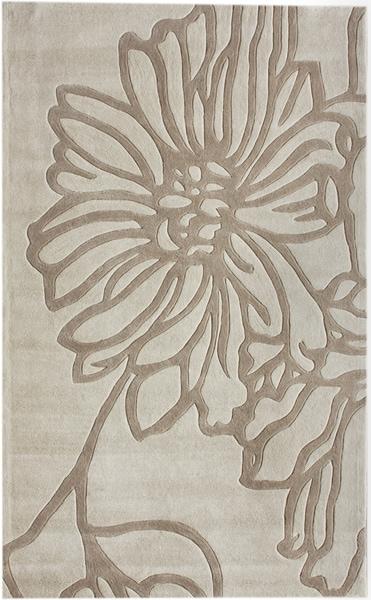 nuLOOM Handmade Pino Flower Rug (7'6 x 9'6')