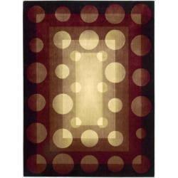 Nourison Parallels Multicolor Geometric Rug (5'6 x 7'5)