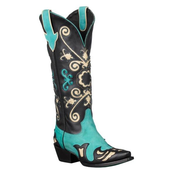 Lane Boots Women's 'Margaret' Mid-Calf Cowboy Boots