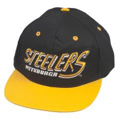 Pittsburg Steelers Retro NFL Snapback Hat - Thumbnail 0