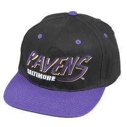 NFL Baltimore Ravens Retro NFL Snapback Hat - Thumbnail 0