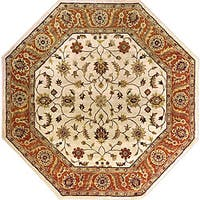 Hand-tufted Arlesey Wool Area Rug (8' Octagon)