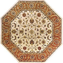 Hand-tufted Arlesey Wool Rug (8' Octagon)