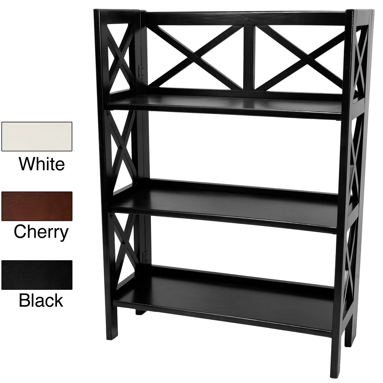 Architectural 37-inch Book Case Shelf (China)