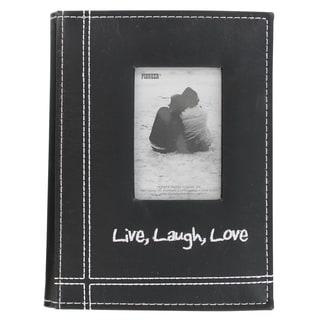 Pioneer Black Faux Leather Photo Album (4' x 6')