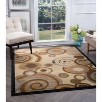 Alise Rugs Flora Contemporary Geometric Area Rug - 5'3 x 7'3
