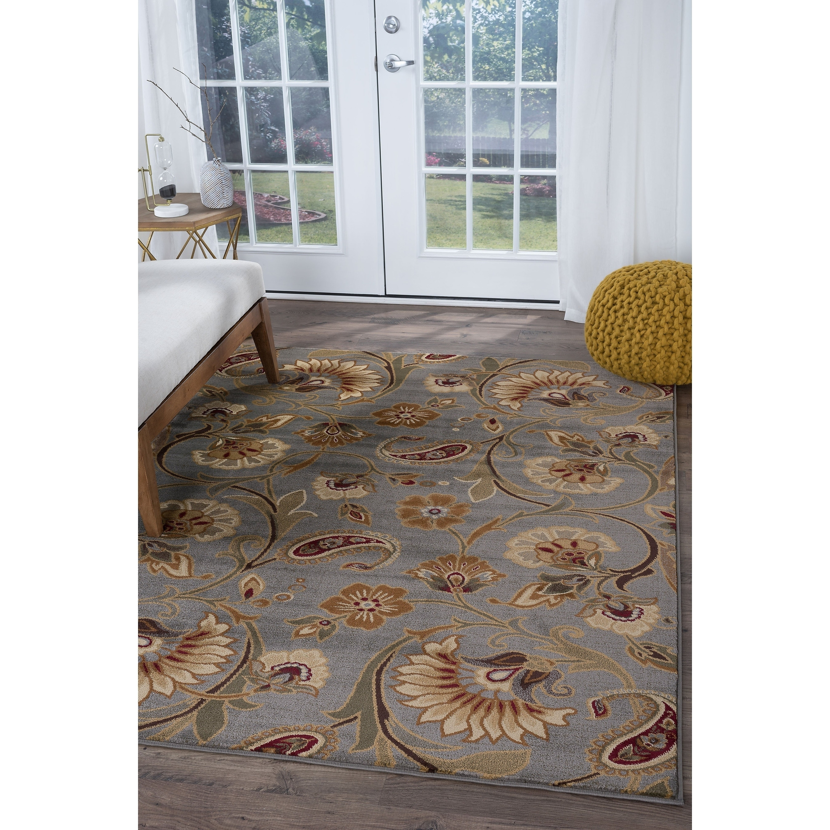 Alise Infinity Blue Area Rug (5'3 x 7'3) - 5'3 x 7'3 (Inf...