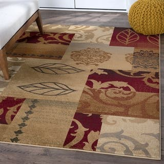 Alise Infinity Red Area Rug (7'10 x 10'3) https://ak1.ostkcdn.com/images/products/6322584/P13948409.jpg?impolicy=medium