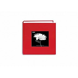 Pioneer Photo Albums Apple Red Fabric Frame Photo Album ('4 x 6')