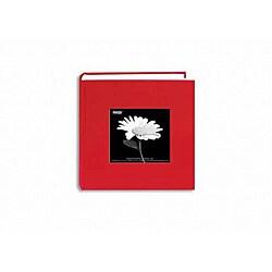 Pioneer Photo Albums Apple Red Fabric Frame Photo Album ('4 x 6')