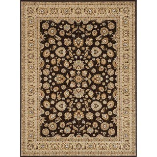 Primeval Coffee/ Beige Oriental Rug (11'2 x 14'6)|https://ak1.ostkcdn.com/images/products/6322629/P13948516.jpg?impolicy=medium