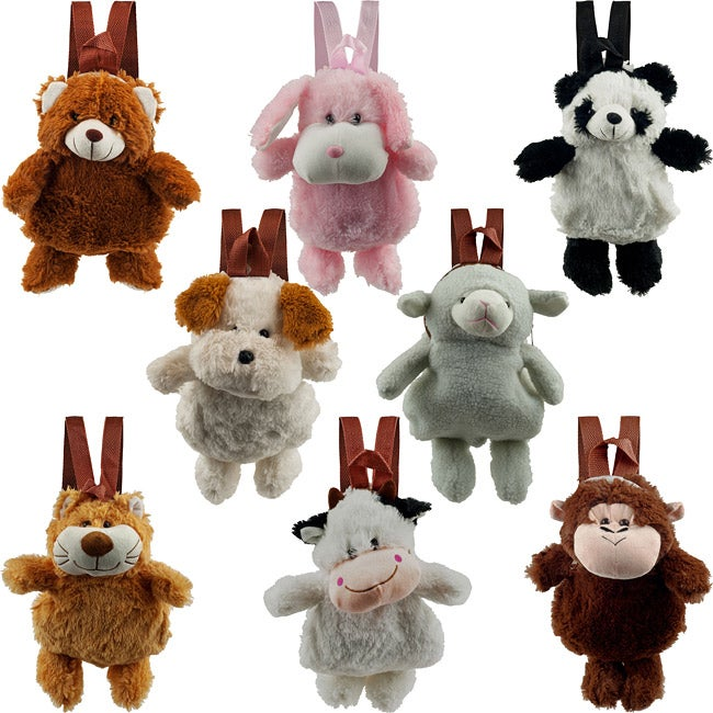 Plush Stuffed Pet Animal Backpack
