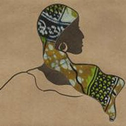 African Proverb Woman's Greeting Card (Set of 4) - Thumbnail 1
