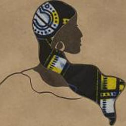 African Proverb Woman's Greeting Card (Set of 4) - Thumbnail 2