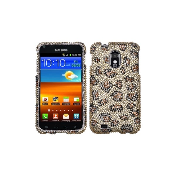 Insten Leopard Rhinestone Phone Case Cover for Samsung Galaxy S2 EPIC 4G Touch