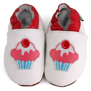 Cupcake Soft Sole Leather Baby Shoes